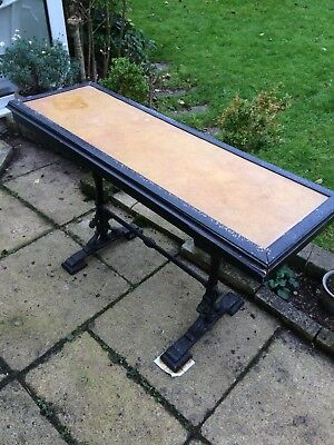 Old Industrial Work Table