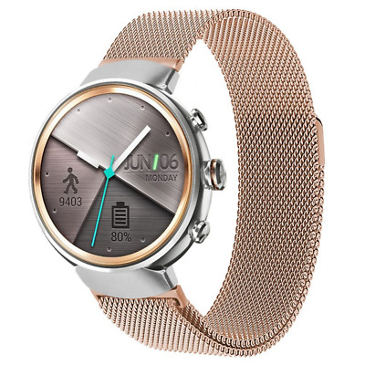 """Band Strap For Asus Zenwatch 3 Smart Fitness Watch, Fits Wrists Size 6.10""""-9.10"""""""