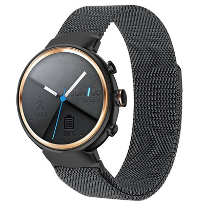 """Replacement Band Strap For Smart Fitness Asus Zenwatch 3, Fits Wrist 6.10""""-9.10"""""""