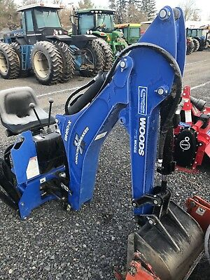 Woods BH80X Compact Tractor Backhoe