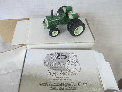 Older 1/64 Oliver 1950T w/ duals & FWA tractor by Ertl, Toy Farmer, hard to find