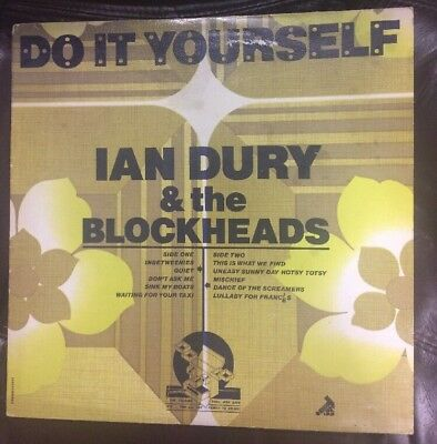 Ian dury and the blockheads laughter lp ex condition 1st press ian dury the blockheads do it yourself seez 14 lp 1st press plays solutioingenieria Image collections