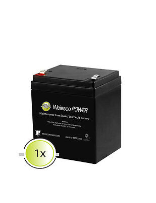 DSC Alarm Systems DSC832 12V 5Ah SLA Replacement rechargeable-Battery  F2
