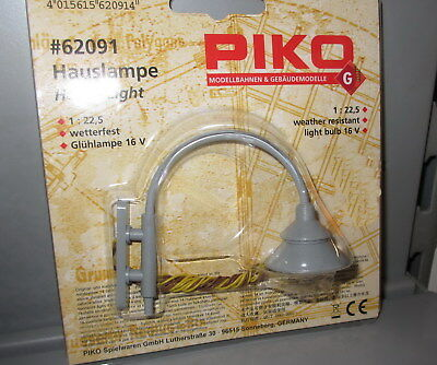 Piko 62091 Spur G _  Hauslampe Hauslaterne Laterne