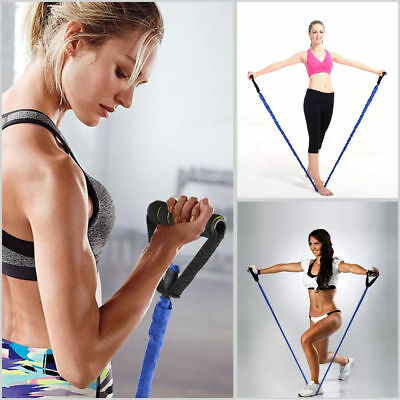 Yoga Pull Rope Elastic Bands Fitness Gym Rope Resistance Bands Exercise Pilates