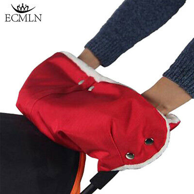 Stroller Warmer Gloves Pushchair Hand Muff Waterproof Pram Buggy Clutch Winter