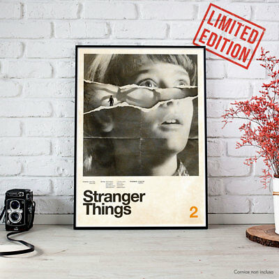 STRANGER THINGS 2 - 2017 CONCEPCION STUDIOS Fine Art Print POSTER Locandina HD