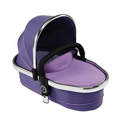 iCandy Peach Twin Carrycot Parma Violet Purple Fits Peach 2/3 New