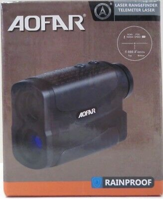 Aofar AF700L Camo Golf Hunting Laser Range Finder Scope Monocular Camo