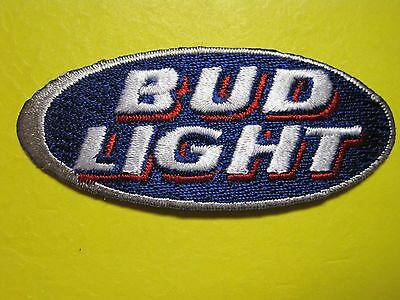 Beer Patch Bud Light Small For Shirt, Cap , Jacket, Vest, Etc.  Look And Buy*