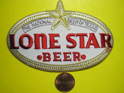 Beer Patch Lone Star Beer Look And Buy Now (Small Star)*