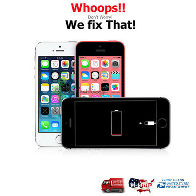 🔥Apple iPhone5/5C/5S A++ Quality Battery Replacement Repair Service Any Compa🔥