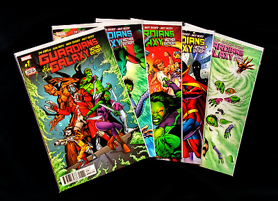 Complete Run - #1 through #5 - Guardians of the Galaxy: Mother Entropy