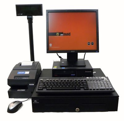 Fast Lenovo 2.6Ghz Full Cash Register Point Of Sale WinXP & POS Software Incl.