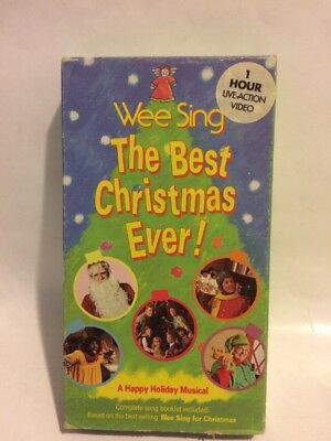 wee sing the best christmas ever kids vhs video a happy holiday musical - Wee Sing The Best Christmas Ever