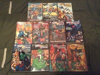 DC Tpb Lot of 11 teen titans