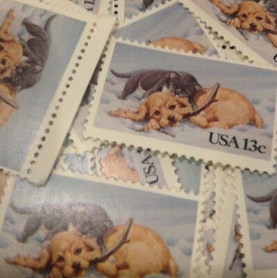 15 Cute Puppy And Kitten Stamps show your love of animals on your correspondence