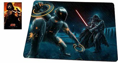 Star Wars Darth Vader vs Tron Mouse Pad with Star Wars Collectible Card, MP271