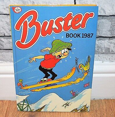 Buster Book 1987 - Vintage Comic Annual