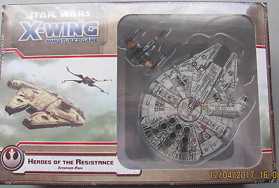 X-WING Heroes of the Resistance STAR WARS New Factory sealed