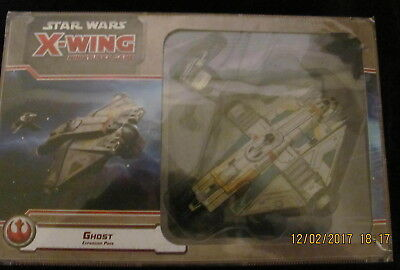 X-WING, GHOST, STAR WARS, New Factory sealed