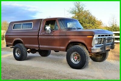 1975 Ford F-250 Ford F250 Highboy, 4WD, NO RESERVE, F100, 4X4 1975 Ford F-250 Highboy 4WD, 1-Owner Survivor, NO RESERVE, F100