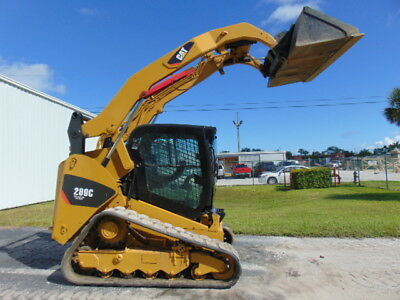 """2011 Cat 289C Turbo """"high Flow"""" 2-Speed Enclosed A/c & Heat Cab"""" Hyd Coupler"""