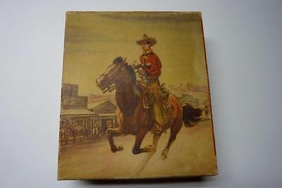1950's TOM MIX BOYS BOOT BOX ~Great Graphics