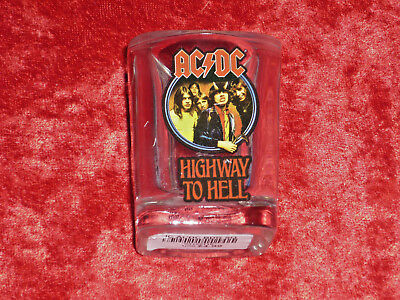AC/DC 2015 Official Highway to Hell  Shot Glass!! AWESOME!!