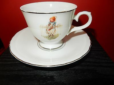 Vintage Holly Hobbie So Sweet Cup And Saucer