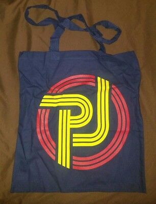 BRAND NEW Pearl Jam Blue Tote Bag Tour Gear