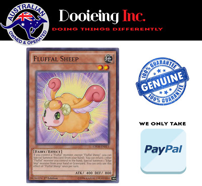 Yu-Gi-Oh - Fluffal Sheep - CROS-EN011 - Common - 1st Edition (Two Cards)