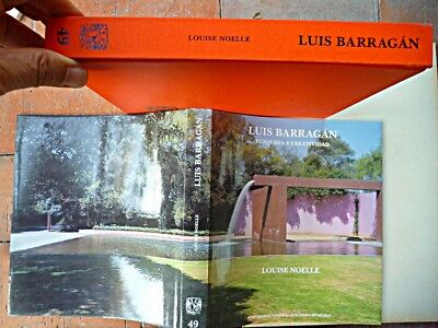 Mexican Architect Luis Barragan Book In Spanish, Photos, Intelectual Content