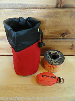 Arborist Tree Workers Throw Line Kit Rope Bag 1-11OZ Bag and 166' of Throw Line