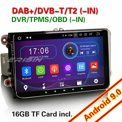 "9""Android 7.1 car radio DAB+for Passat Polo EOS Touran Sharan Altea Seat GPS RDS"
