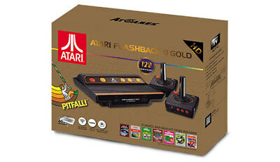 NEW Atari Flashback 8 Gold Retro Console HD from Purple Turtle Toys