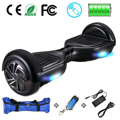 "6.5"" Elektro-Scooter OVERBOARD Self Balancing Scooter E-Balance Board + Tasche"
