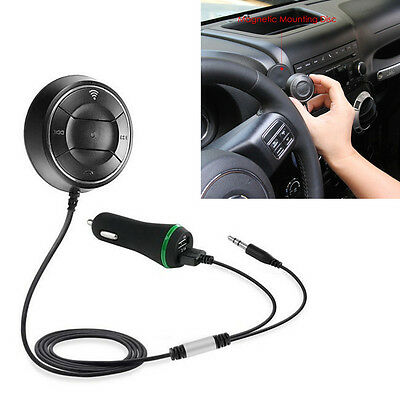 Wireless Bluetooth FM Transmitter MP3 Player Charger AUX input Interference Free