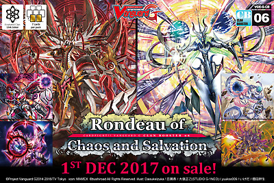 Cardfight Vanguard Rondeau of Chaos & Salvation G-CB06 Clan Booster Box 12 Packs