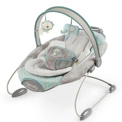 Ingenuity SmartBounce Automatic Bouncer/Rocker for Baby/Infant Cambridge Rrp$159
