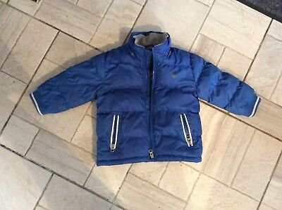 Timberland Boys Puffer Hooded Jacket, Age 2 Yrs 86cm Nearly New