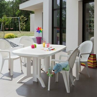 Table de jardin Vega 165x100 GROSFILLEX