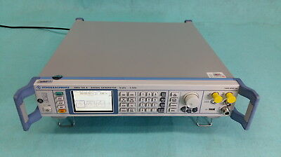 R&S Rohde&Schwarz SMA100A - 9kHz to 3GHz Signal Generator, Calibrated
