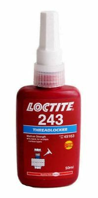Hankel Loctite 243 MEDIUM STRENGTH THREADLOCK  Blue Glue METAL ADHESIVE 50 ML