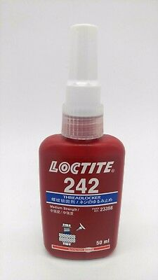 Hankel Loctite 242 MEDIUM STRENGTH THREADLOCK  Blue Glue METAL ADHESIVE 50 ML