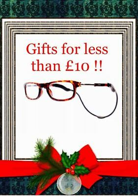 Loopies Magnetic Reading Glasses Tortoise Shell Case and Cloth 75% off Rrp