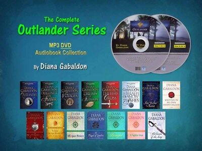 The Complete OUTLANDER Series By Diana Gabaldon (15 MP3 Audiobooks) UNABRIDGED