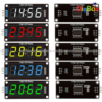"0.56"" inch TM1637 4-Bits LED Clock Tube Display for Arduino Red/Blue/Green/White"
