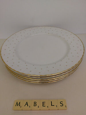 LAURA ASHLEY ~STARLIGHT~ dinner plates x 5