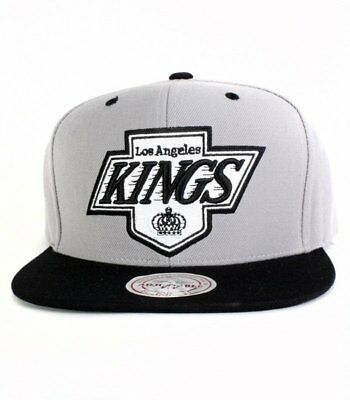 Casquette Snapback Mitchell & Ness Kings Archuvisr Gris